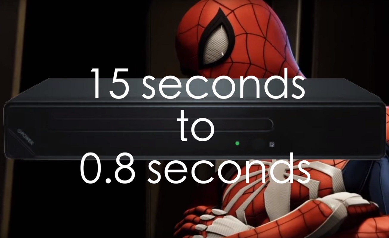 Playstation 5 Spider-man Load times