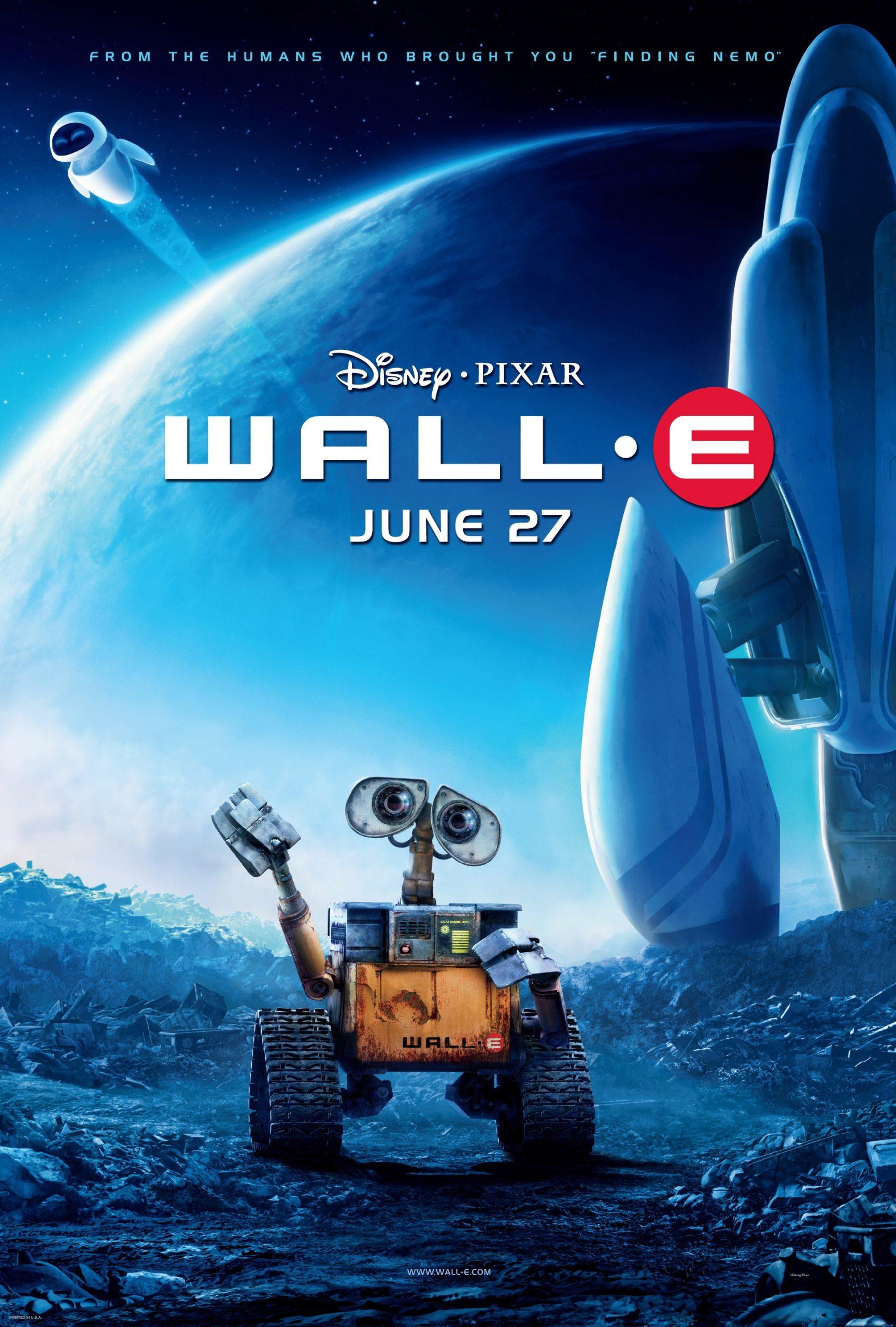 دانلود انیمیشن WALL E 2008 دوبله فارسی