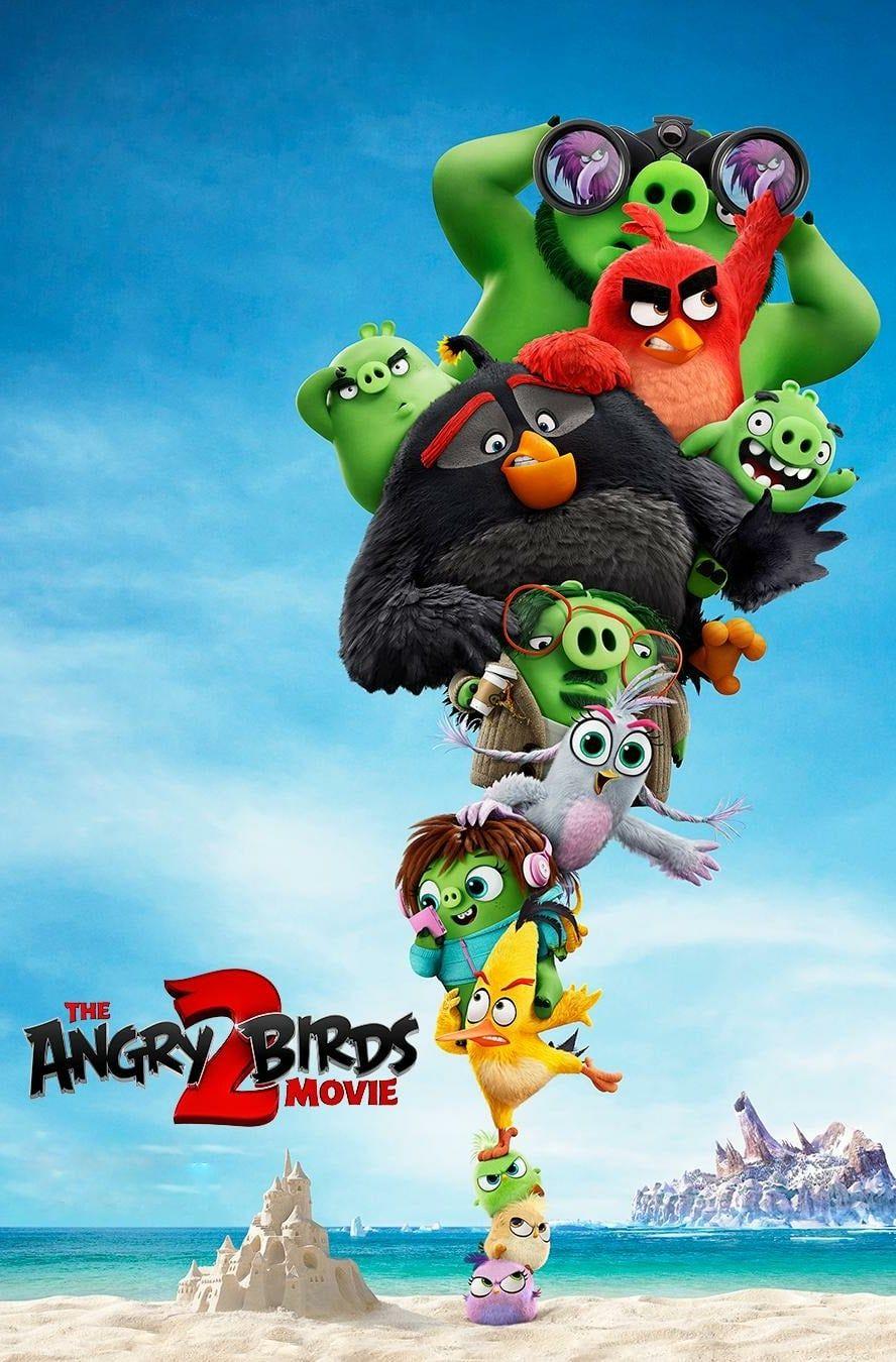 دانلود انیمیشن Angry Birds 2 2019 دوبله فارسی