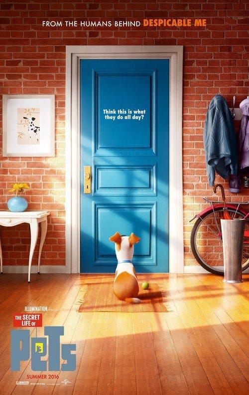 دانلود انیمیشن The Secret Life of Pets 2016 دوبله فارسی