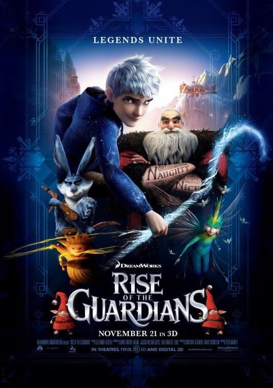دانلود انیمیشن Rise of the Guardians 2012 دوبله فارسی