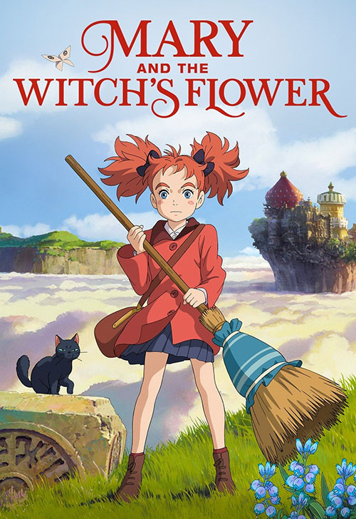 دانلود انیمیشن Mary and the Witchs Flower 2017 دوبله فارسی
