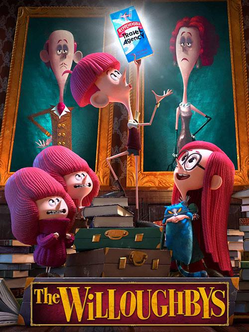 دانلود انیمیشن The Willoughbys 2020 دوبله فارسی