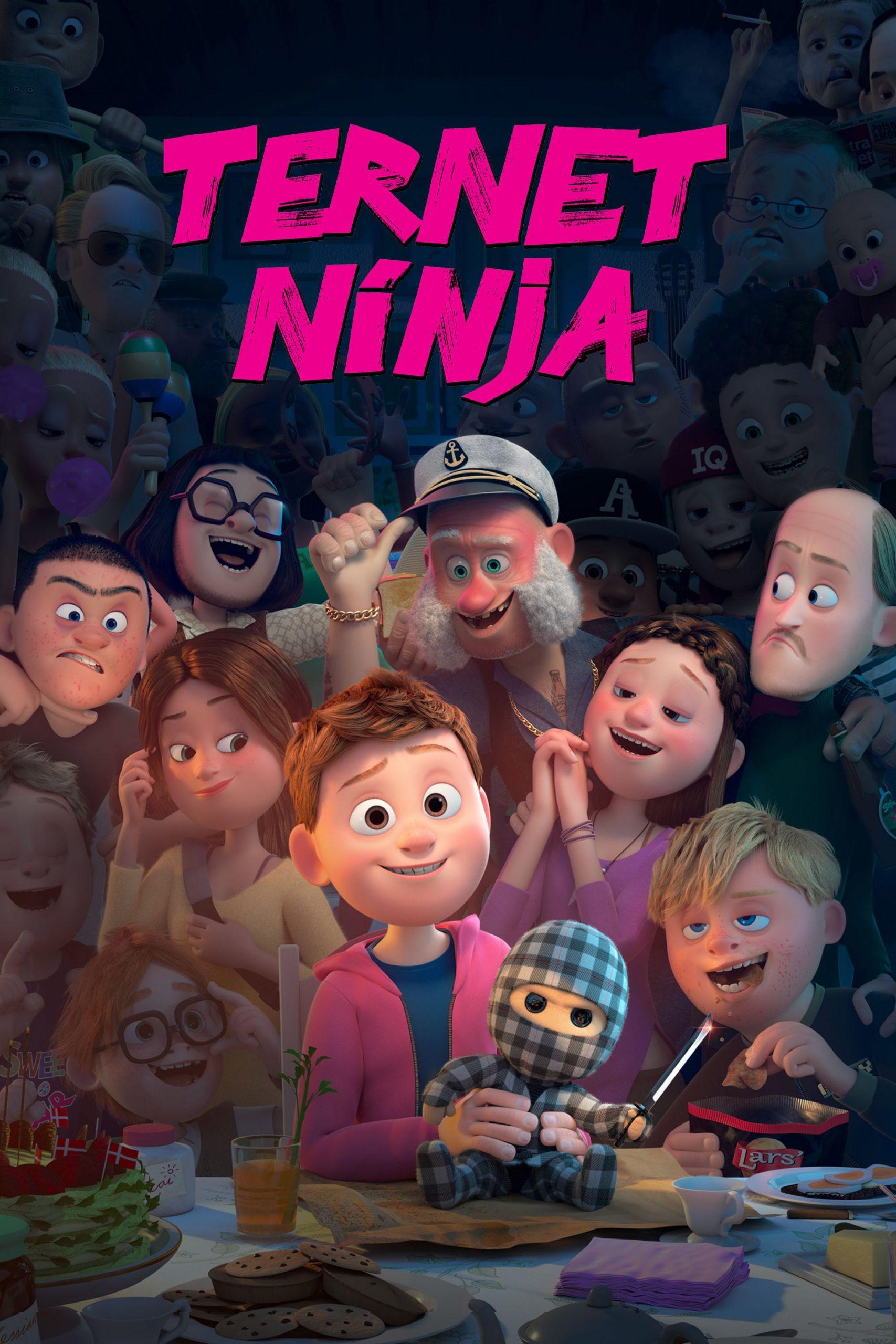 دانلود انیمیشن Ternet ninja 2018 دوبله فارسی