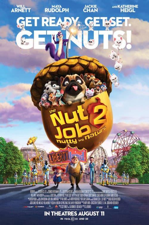 دانلود انیمیشن The Nut Job 2 2017 دوبله فارسی