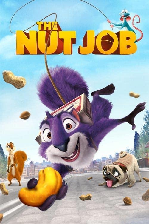دانلود انیمیشن The Nut Job 2014 دوبله فارسی