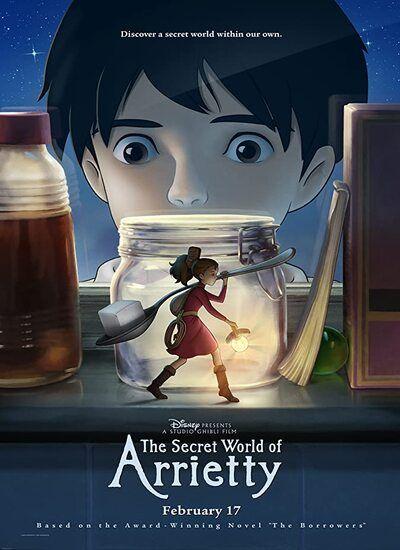دانلود انیمیشن Arrietty 2010 دوبله فارسی