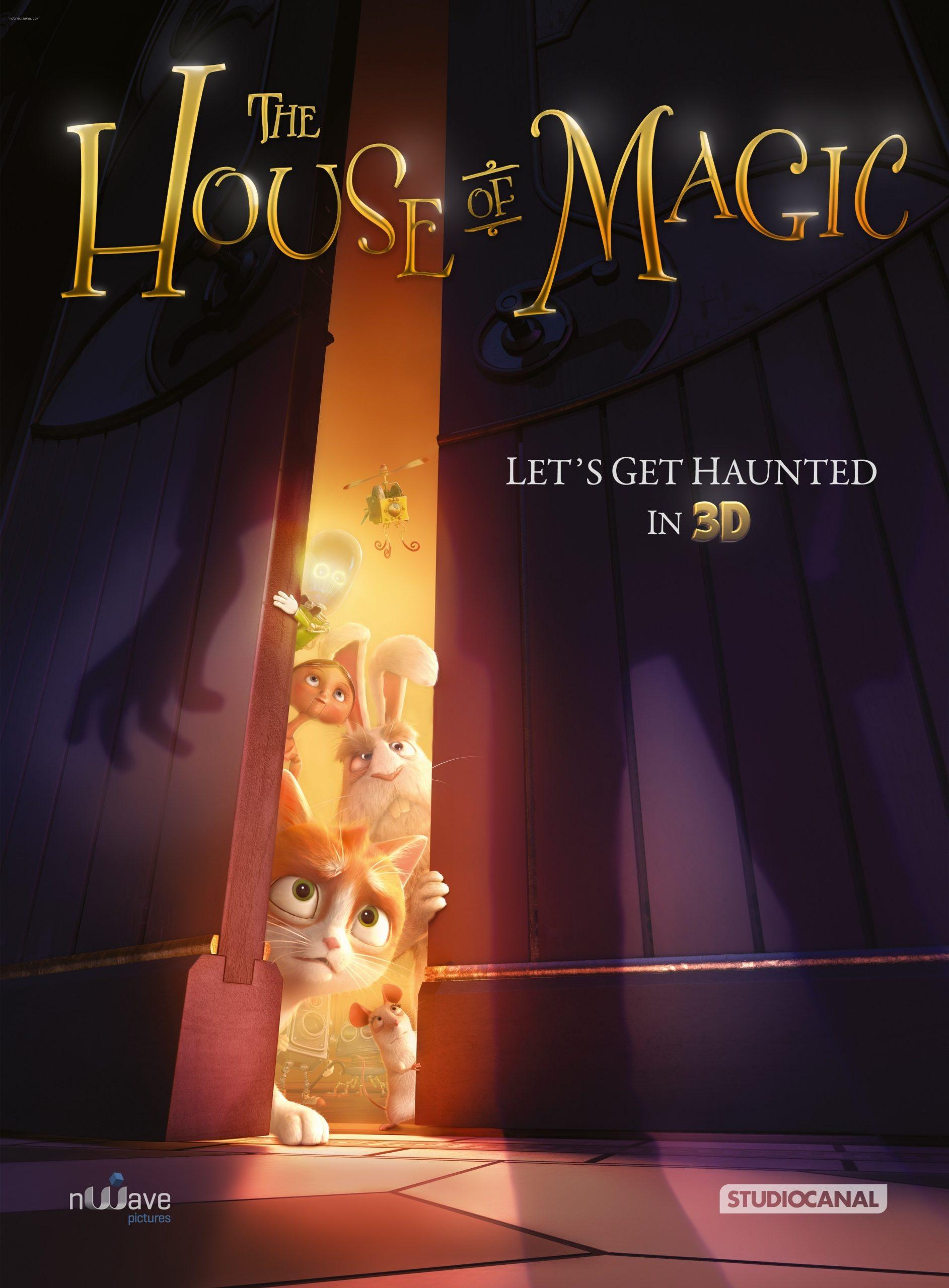 دانلود انیمیشن house of magic 2013 دوبله فارسی