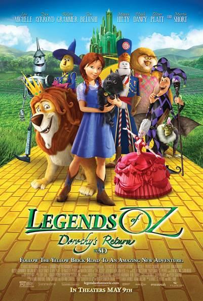 دانلود انیمیشن Legends of Oz Dorothys Return 2013 دوبله فارسی