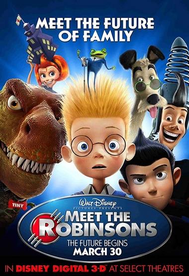دانلود انیمیشن Meet the Robinsons 2007 دوبله فارسی