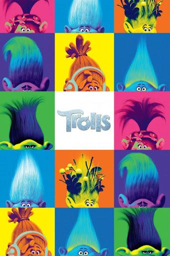 دانلود انیمیشن Trolls 2016 دوبله فارسی