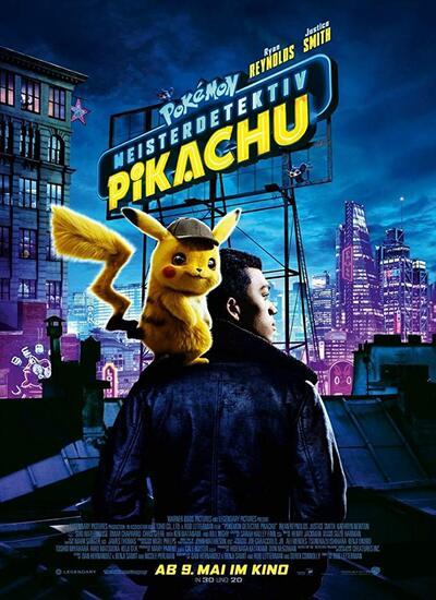 دانلود انیمیشن Pokemon Detective Pikachu 2019 دوبله فارسی