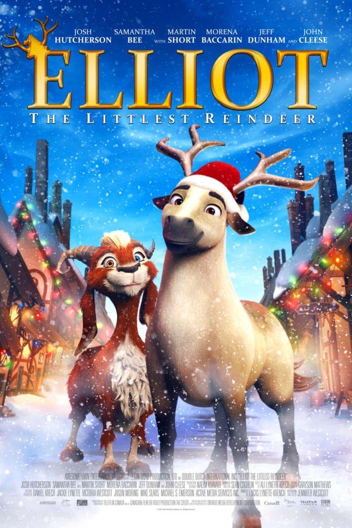دانلود انیمیشن Elliot the Littlest Reindeer 2018 دوبله فارسی