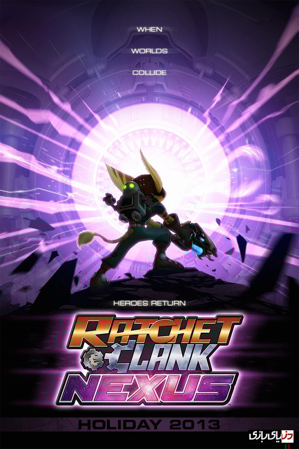 دانلود انیمیشن Ratchet And Clank 2016 دوبله فارسی