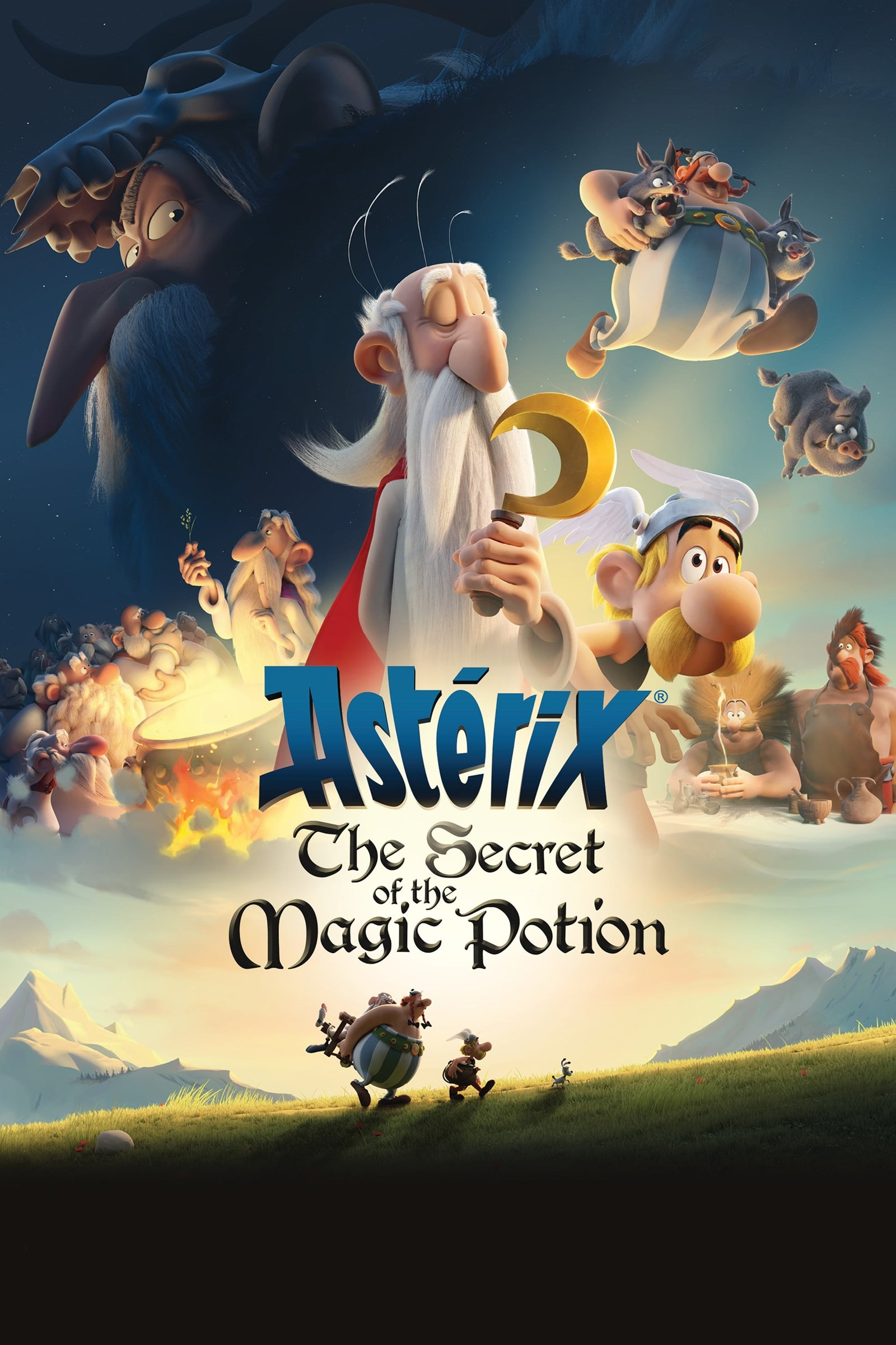 دانلود انیمیشن Asterix The Secret of the Magic Potion دوبله فارسی