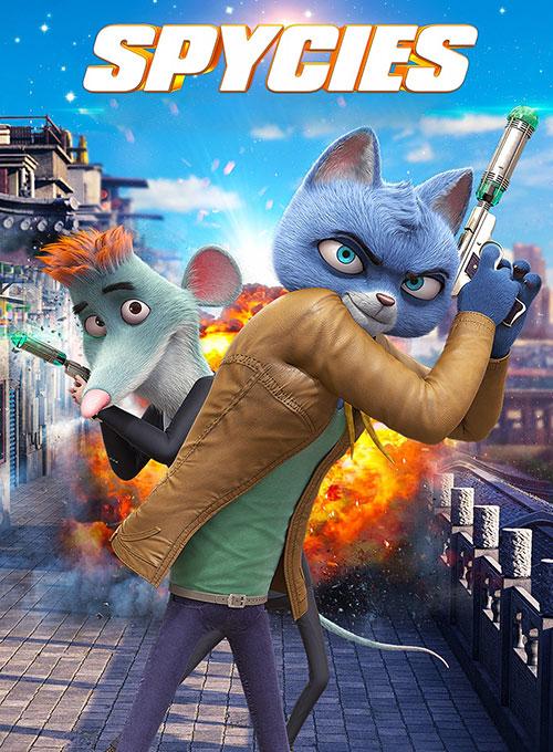 دانلود انیمیشن Spycies 2019 دوبله فارسی
