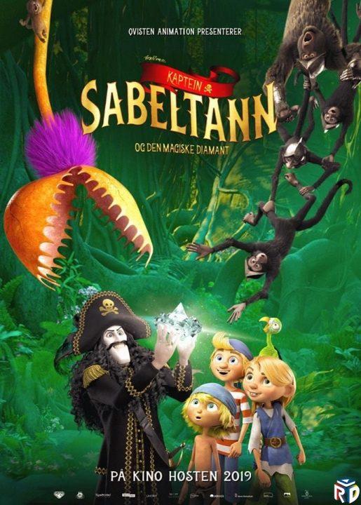 دانلود انیمیشن Captain Sabertooth. 2019 دوبله فارسی