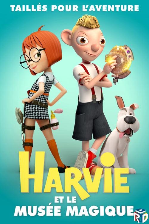 دانلود انیمیشن Harvey and the Magic Museum 2017 دوبله فارسی