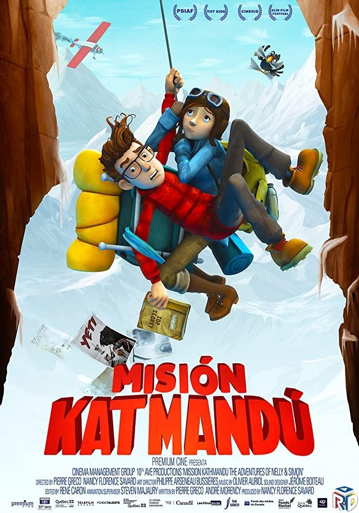 دانلود انیمیشن Mission Kathmandu 2017 دوبله فارسی