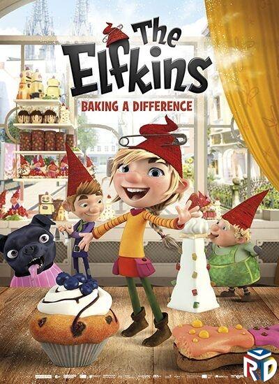 دانلود انیمیشن The Elfkins Baking a Difference 2020 دوبله فارسی