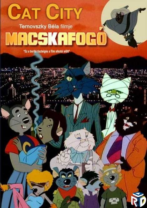 دانلود انیمیشن Cat City 1986 دوبله فارسی