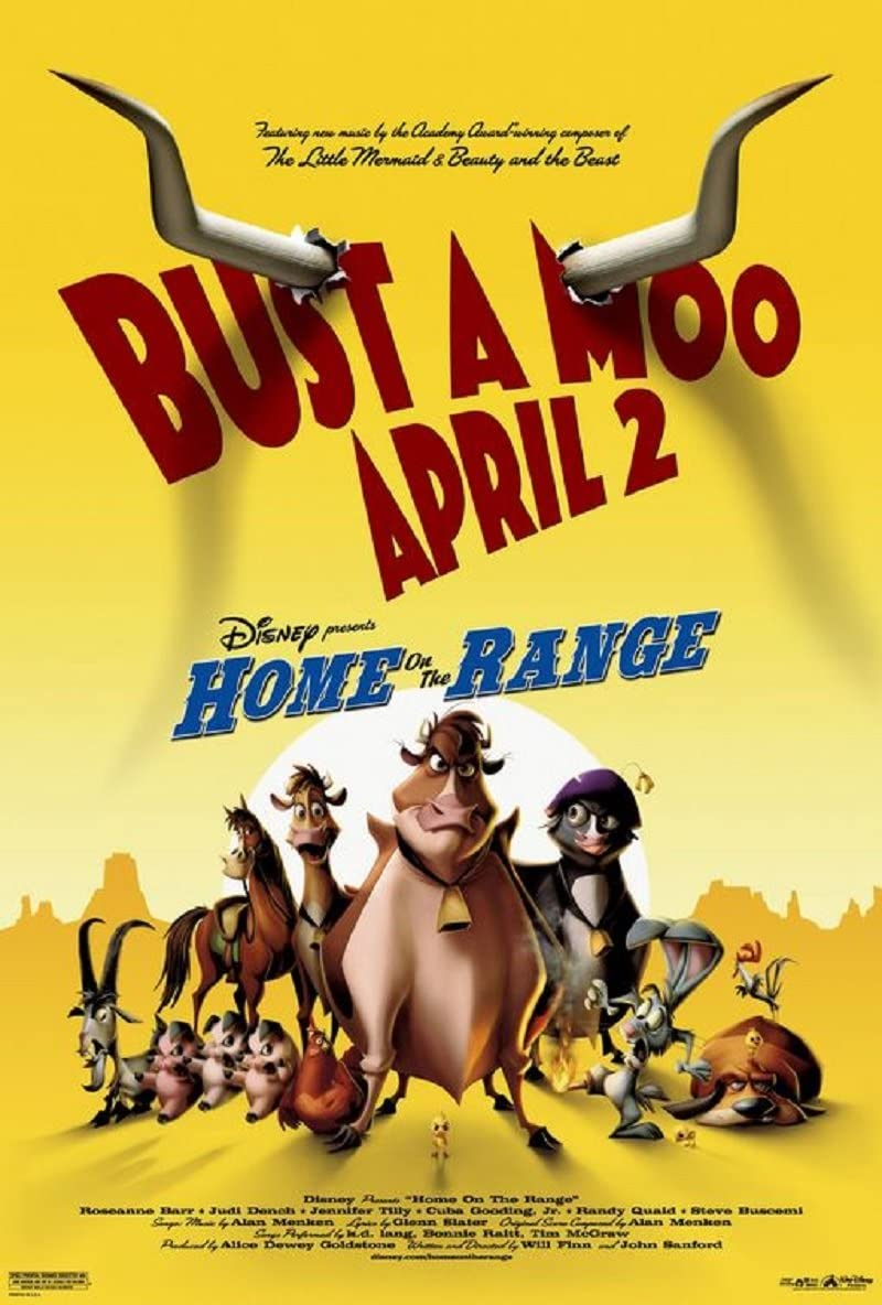 دانلود انیمیشن Home on the Range 2004 دوبله فارسی
