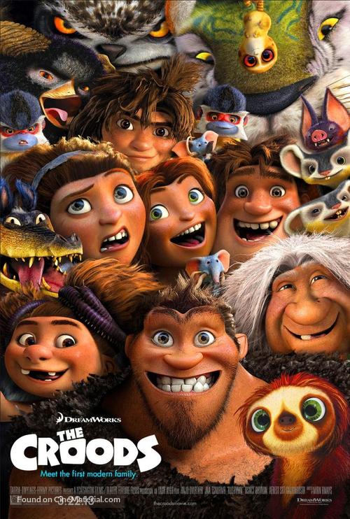دانلود انیمیشن The Croods 2013 دوبله فارسی