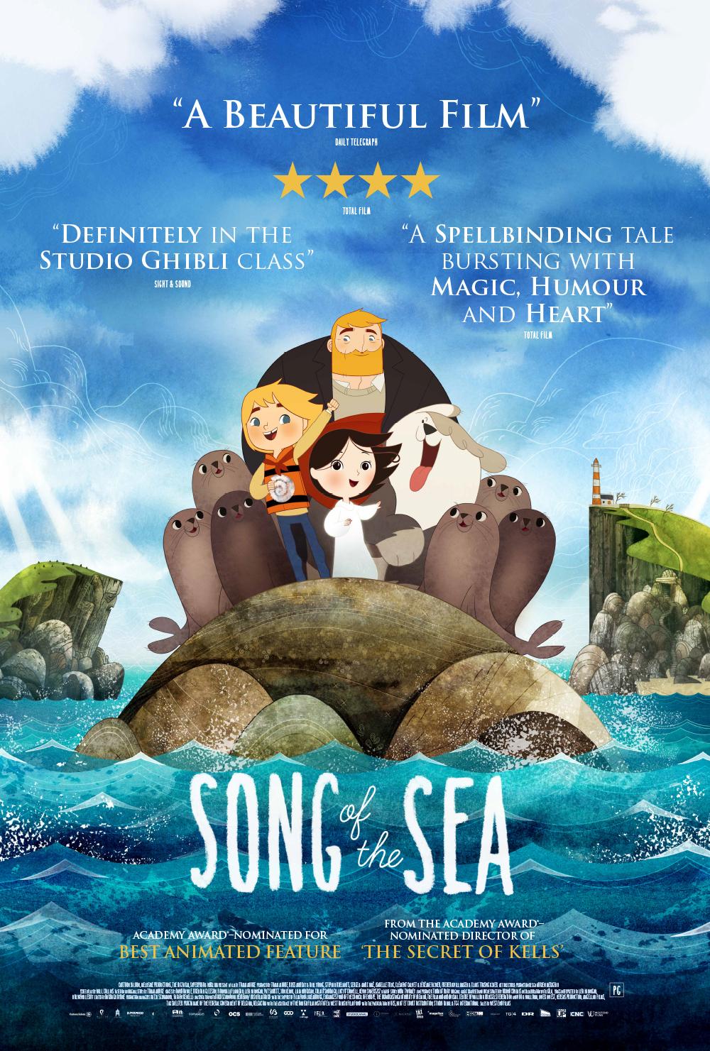 دانلود انیمیشن Song of the Sea 2014 دوبله فارسی