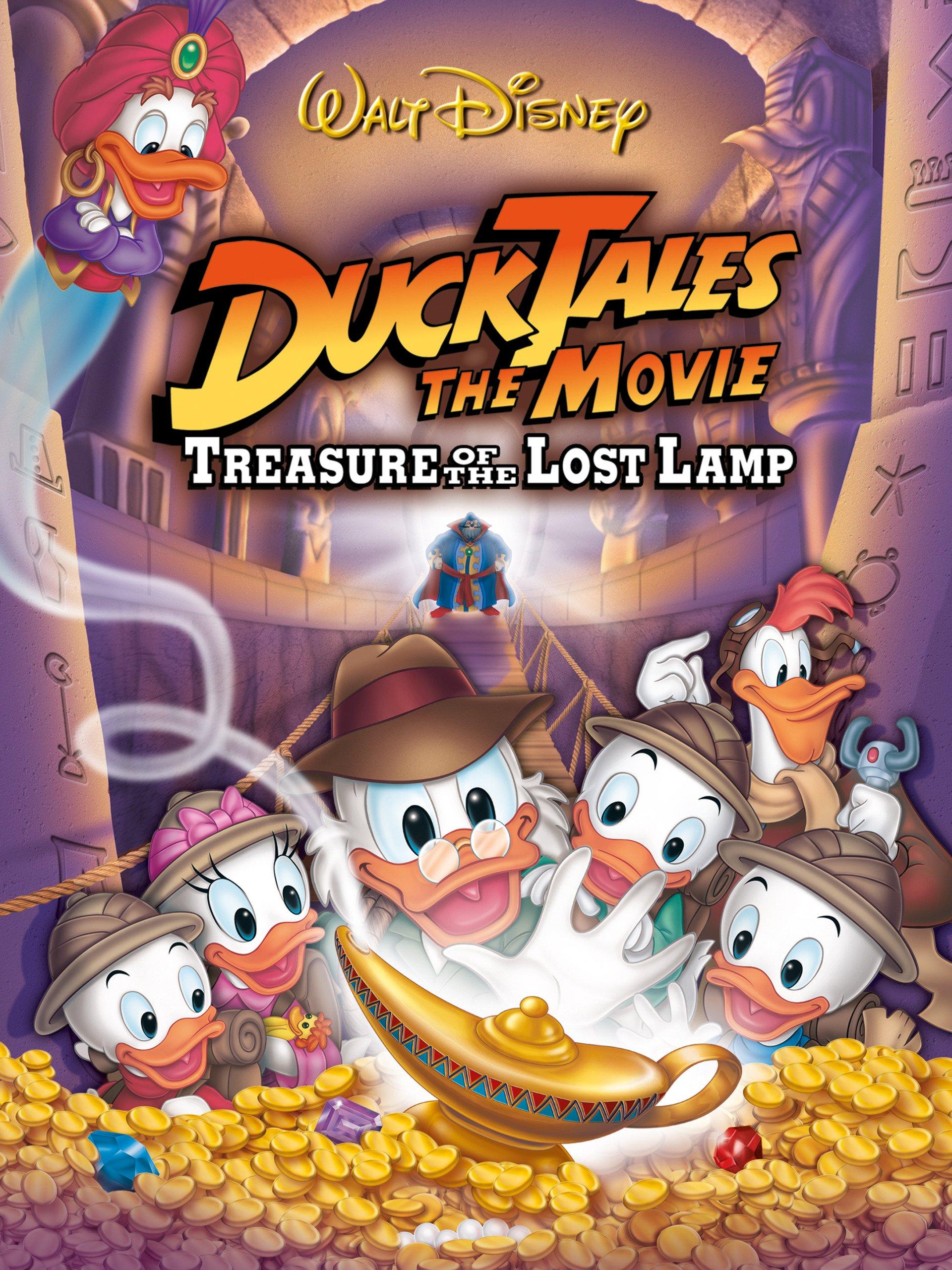 دانلود انیمیشن DuckTales the Movie 1990 دوبله فارسی