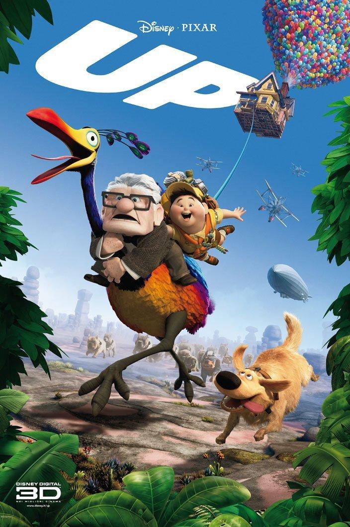دانلود انیمیشن Up 2009 دوبله فارسی
