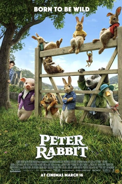 دانلود انیمشن Peter Rabbit 2018 دوبله فارسی