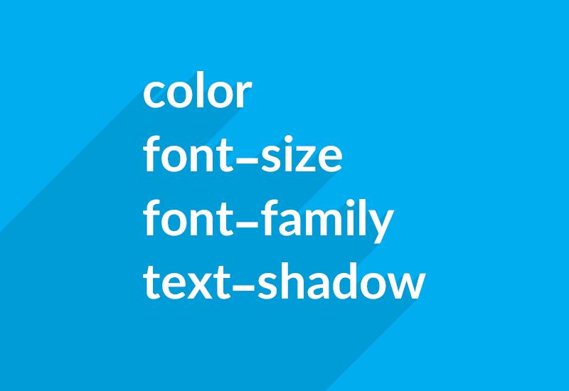 استایل دهی به متن در CSS