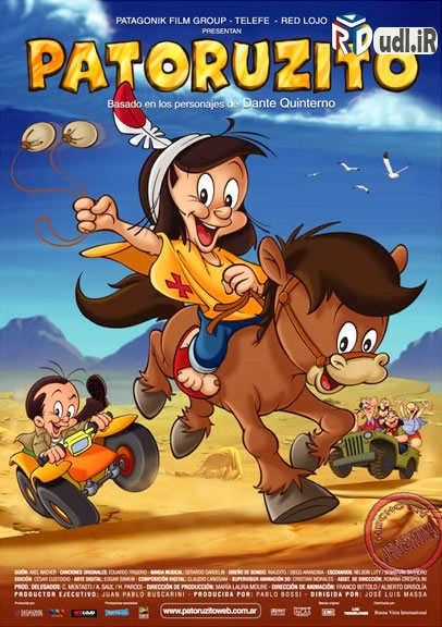 دانلود انیمیشن Patoruzito 2004 دوبله فارسی